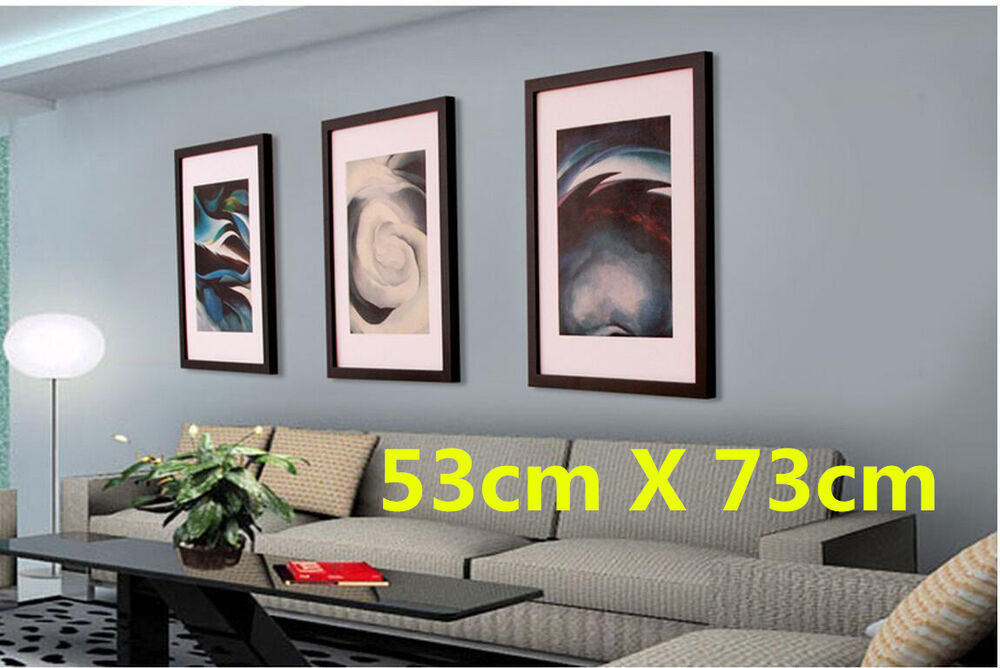 Large 53x73cm wooden picture photo frame home decor art Ebay home interior pictures