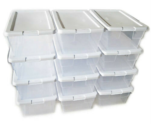 Clear Shoe Boxes Size