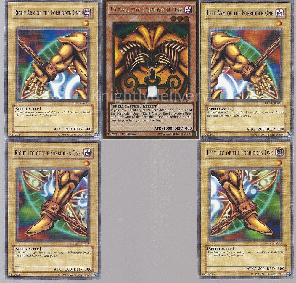 exodia otk ftk deck exodia the forbidden one magical mallet 40 cards yugioh 689054852959 ebay. Black Bedroom Furniture Sets. Home Design Ideas