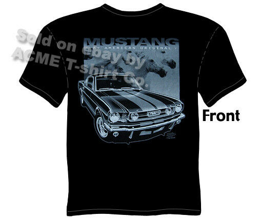 Mustang t shirts ford shirt mustang apparel fastback 1965 for Vintage mustang t shirt