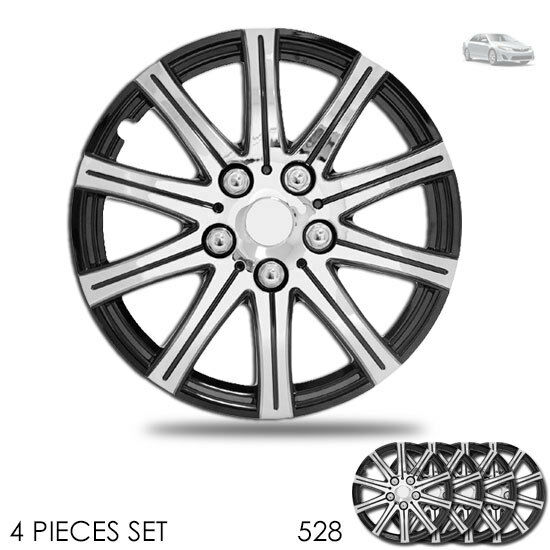 new 15 inch hubcaps wheel covers full lug skin hub cap set 528 for toyota