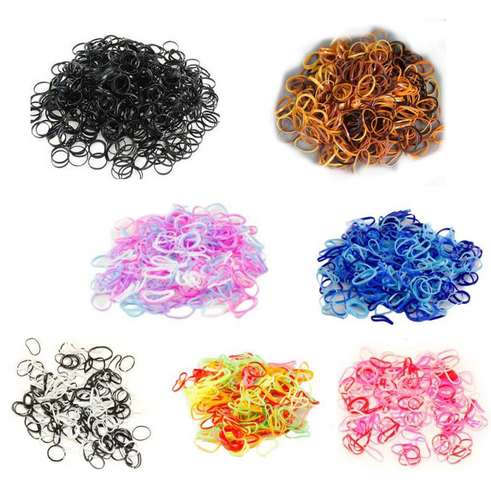 Small Mini Hair Elastics Mini Elastic Rubber Bands For