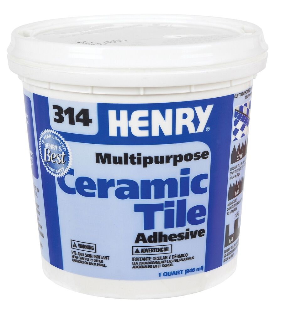 Fixing Tiles Adhesive : Multi purpose ceramic tile adhesive no henry ww