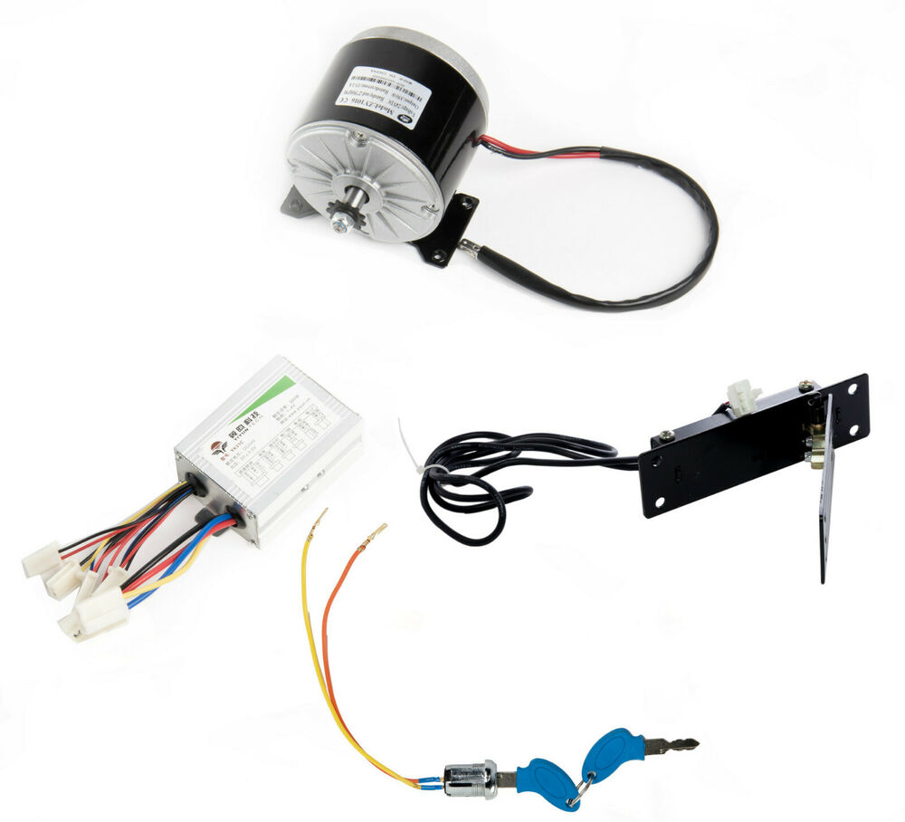 Pd750 Electric Motor Kit: 350W 24V DC Electric Motor 1016 Kit W Speed Controller