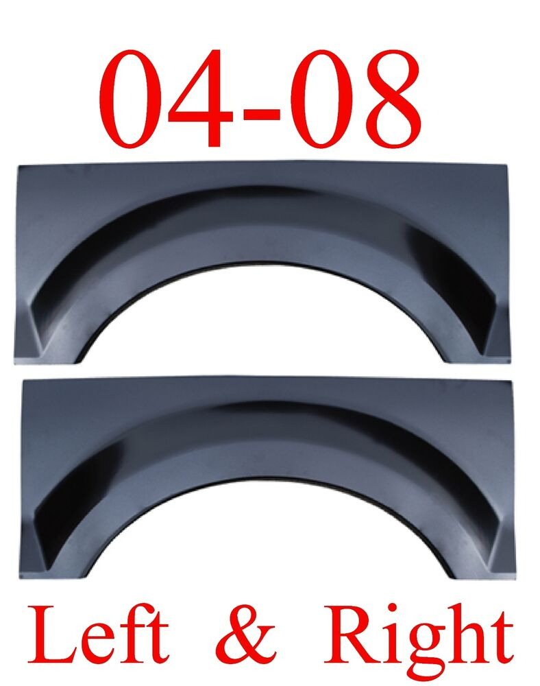 04 08 F150 Upper Arch Set Repair Panel Ford Truck Crew