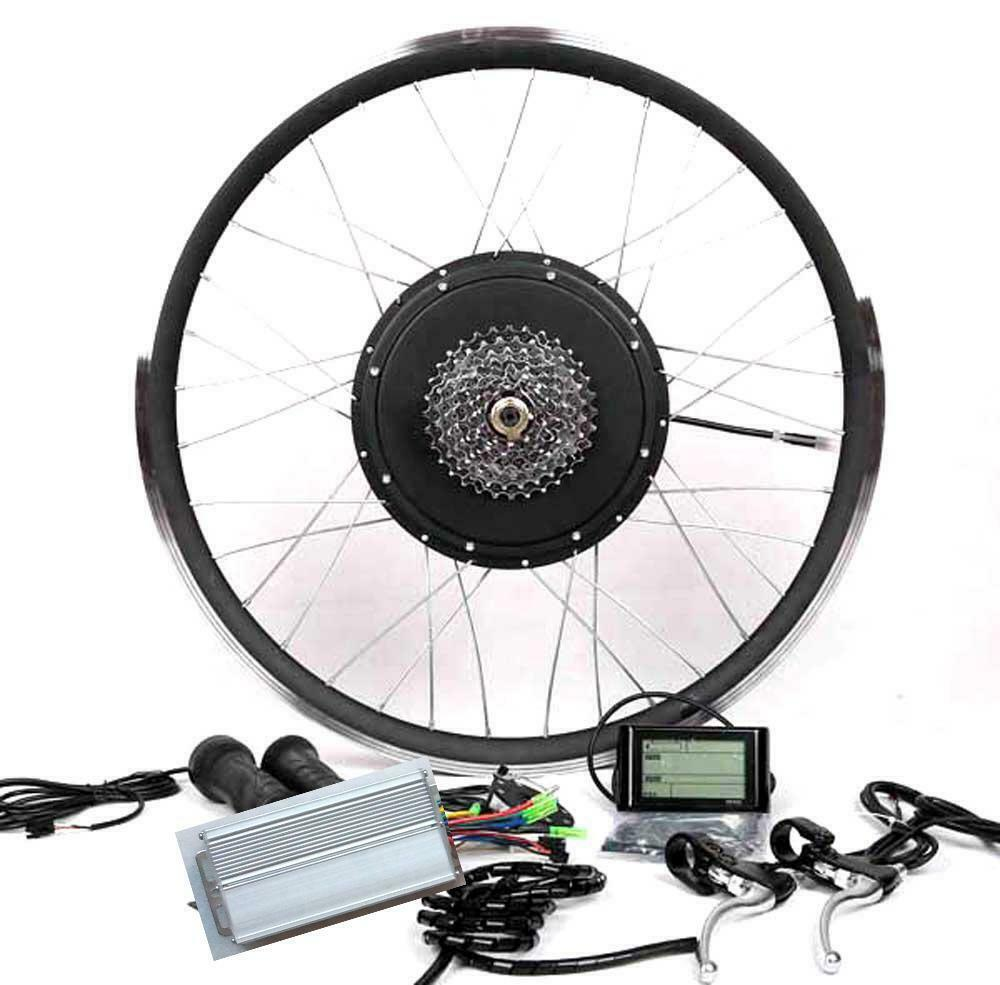 Lcd 8 Or 9 Gear 1500w Cassette Electric Bicycle E Bike Hub