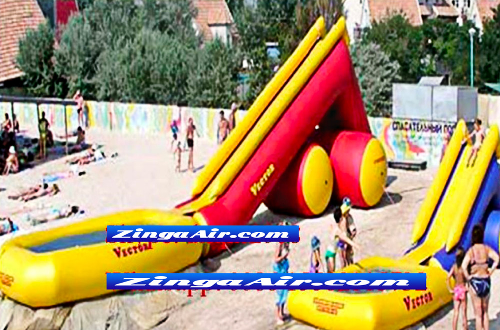Inflatable Bounce House Castle Ball Slide Obstacle Course Pool Toy Commercial Ebay
