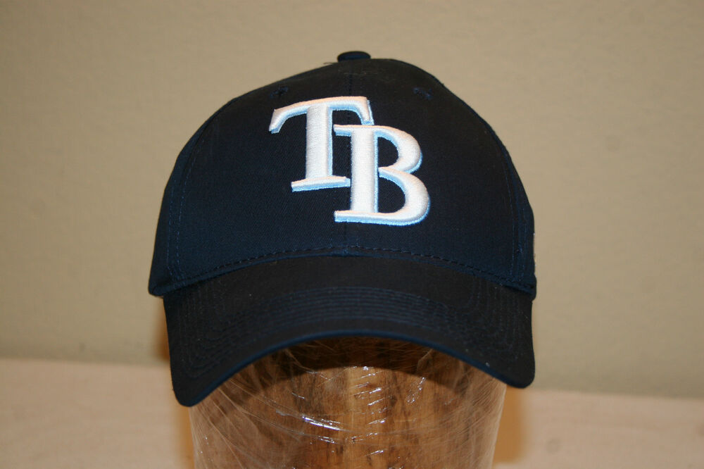 ta bay rays baseball cap hat adjustable one size fits