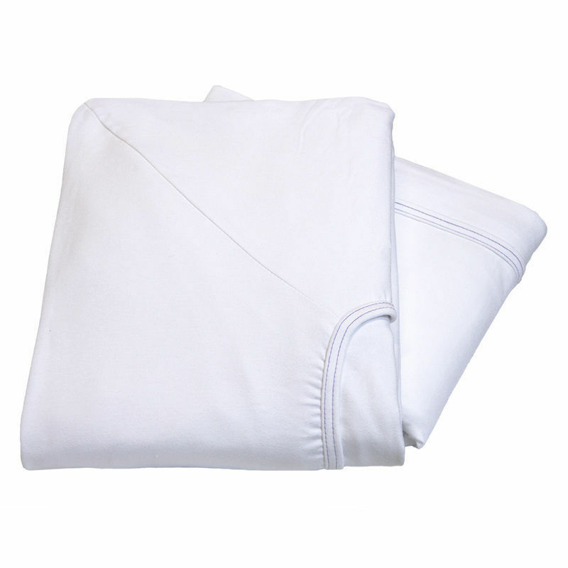 6 new premium white contour twin knitted fitted sheet hospital bed 36x84x16 30oz ebay. Black Bedroom Furniture Sets. Home Design Ideas