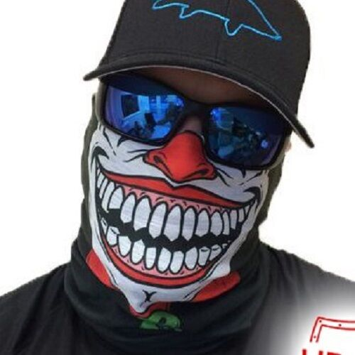 Salt Armour Clown Joker Face Shield Sun Mask Balaclava Neck Gaiter Neckerchief | eBay