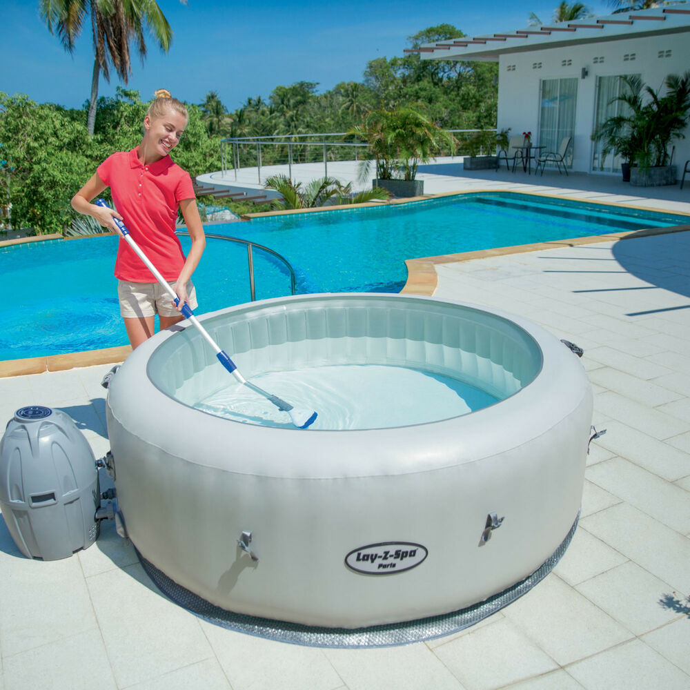 Bestway Lay Z Spa Aqua Scan Electric Pool Vacuum Ebay