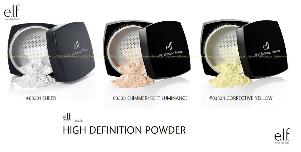 Elf high definition powder yellow