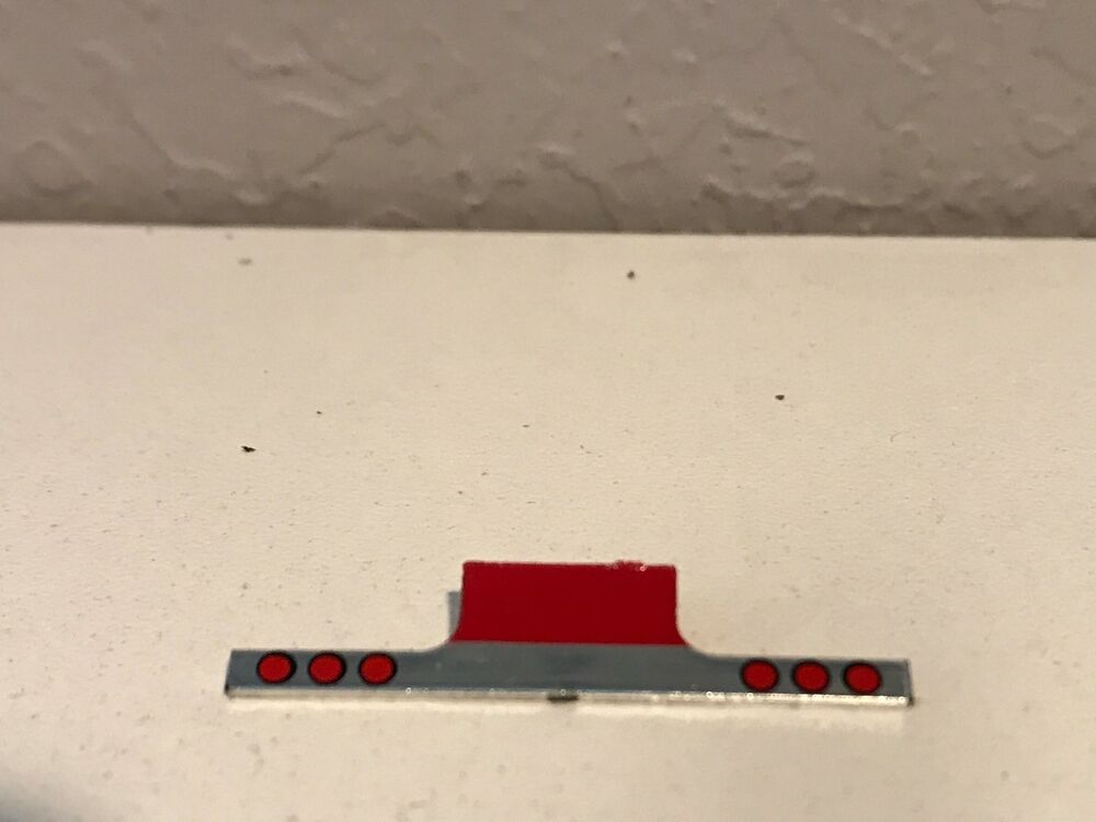 RED /& CHROME DCP 1//64 W900L KENWORTH TAIL PIECE W// RED LIGHTS
