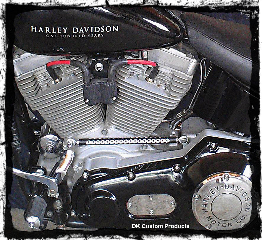 Harley Davidson Sportster Ignition Coil Relocation