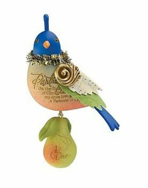 Twelve Days Of Christmas Tree Ornaments