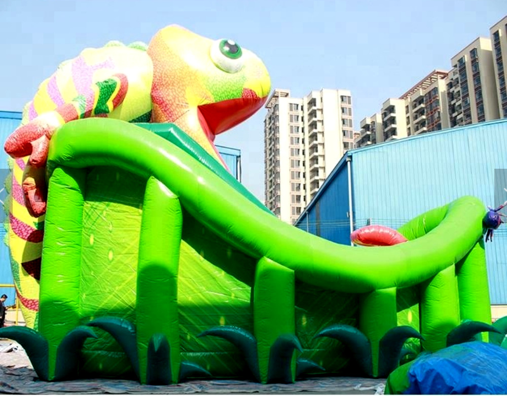 Inflatable Slide Commercial: Inflatable Bounce House Castle Ball Slide Obstacle Course