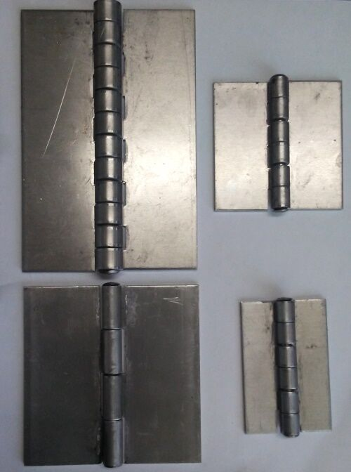 Set Of 2 Aluminum Butt Weld Hinges Ebay