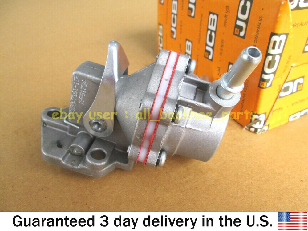 Jcb backhoe genuine jcb fuel lift pump part no 32007201 320 jcb backhoe genuine jcb fuel lift pump part no 32007201 32007037 ebay fandeluxe Image collections