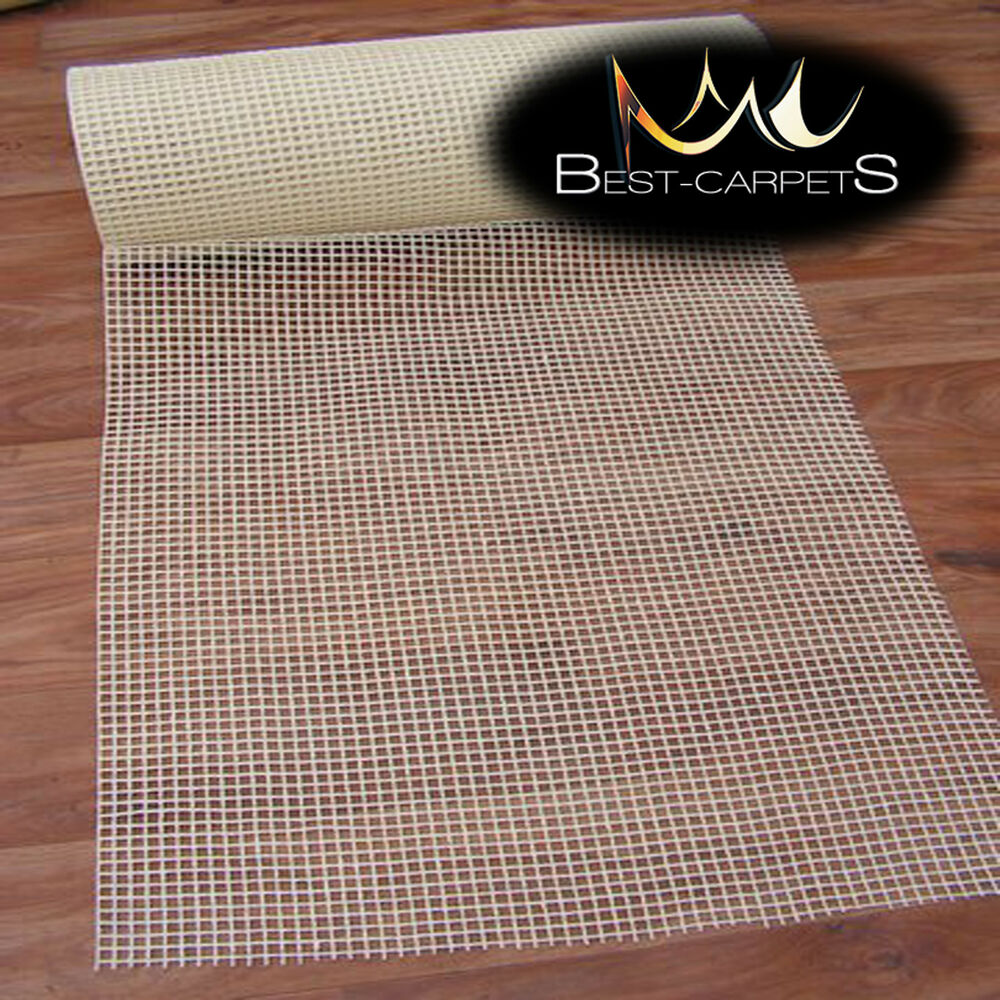 Details About Anti Slip Mat Non Under The Rug Creep Pad Underlay All Floors