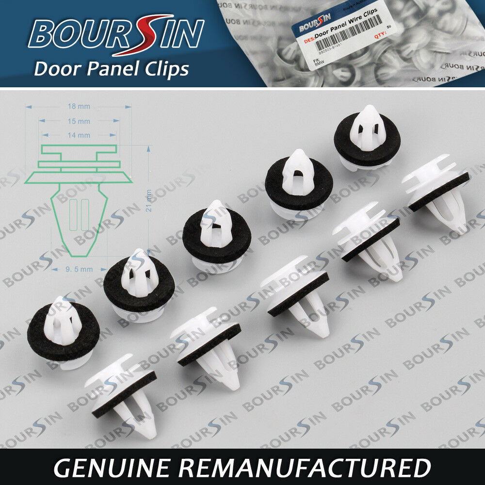 100x Door Panel Trim Clips For Bmw E34 E36 E38 E39 E46 X5