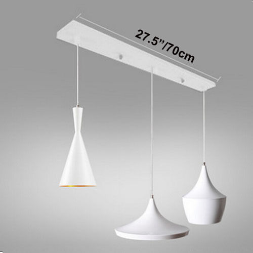 Ceiling Lamp Canopy: Modern Beat Light Long Base Canopy Ceiling Lighting