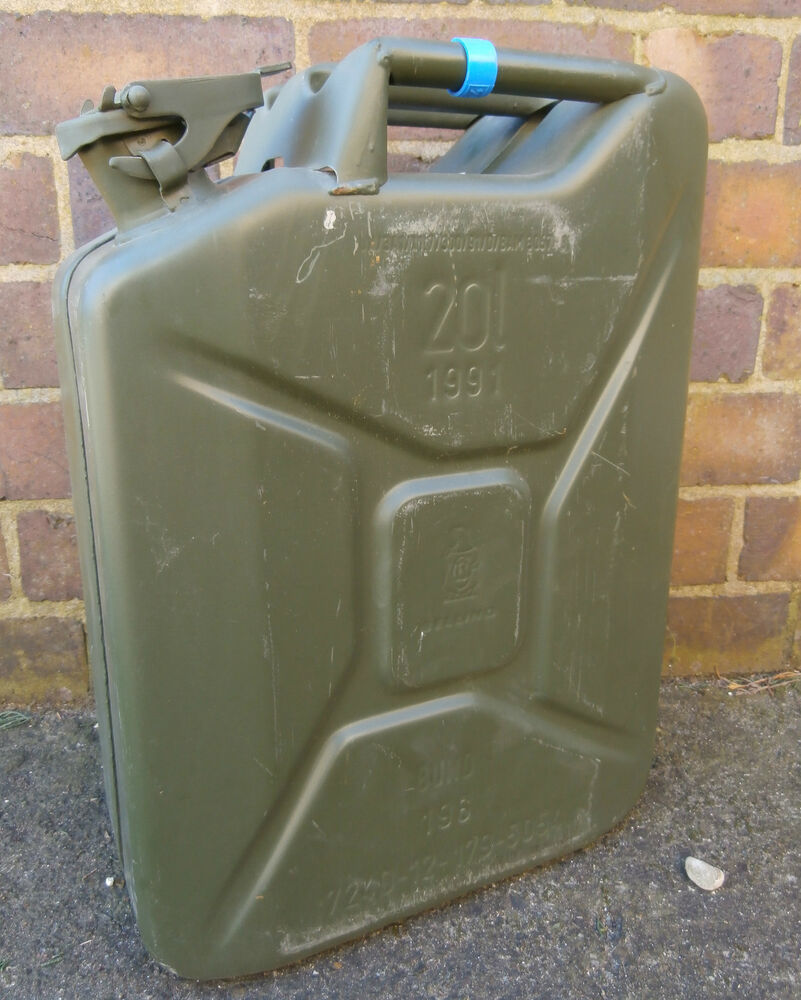 Ebay Co Uk: EX GERMAN ARMY 20L JERRY CAN FUEL CAN METAL 20 LITRE