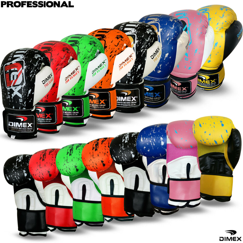 Professional Boxing Gloves Sparring Glove Punch Bag ...