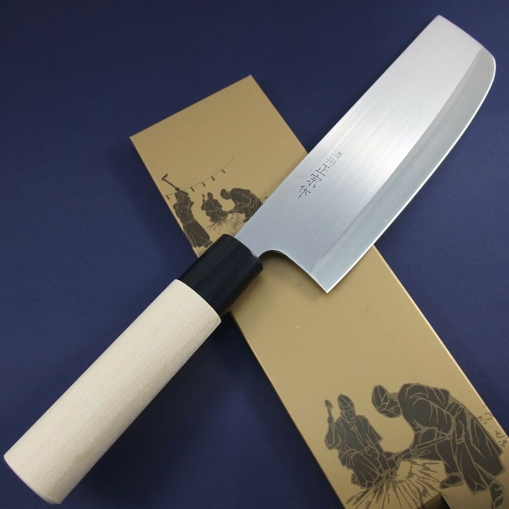 Japanese Nakiri Kitchen Knife Noshu Masamune Seki