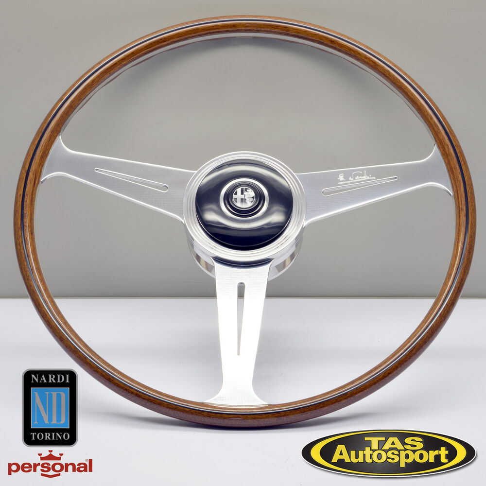 Nardi Wood Steering Wheel Replica Alfa Romeo 1900 Berlina