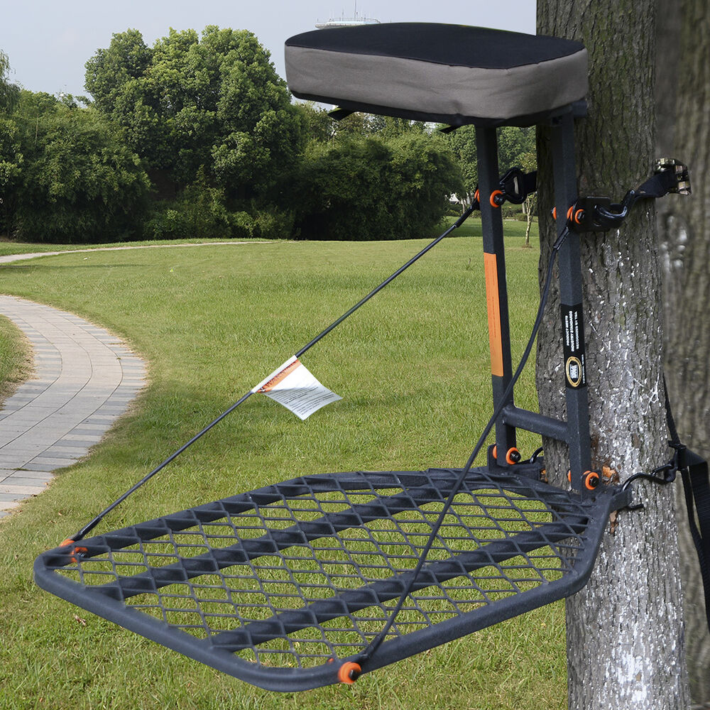 Hunting Tree Stand Hang On Treestand Seat Cushion Safety