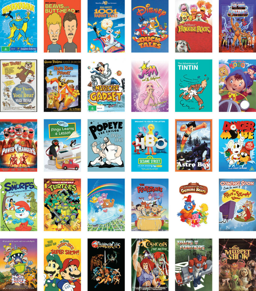 Iconic classic kids tv cartoon shows from 70s 80s 90s for Classic 90 s house music list