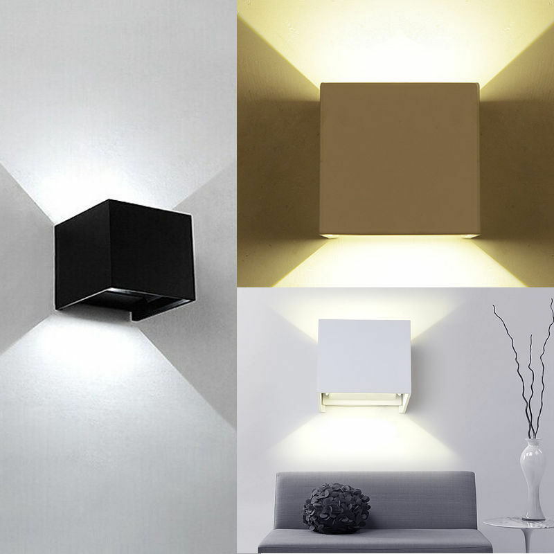 6W Indoor LED Wall Light Up/Down Sconce Light Outdoor