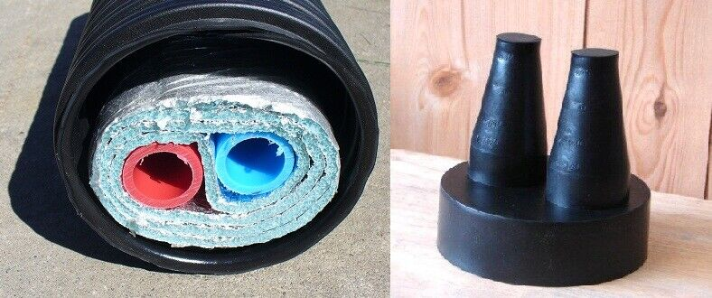 3 4 Quot 100 Insulated Outdoor Furnace Non Barrier 3 Wrap Pex