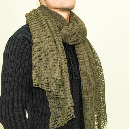 img-NEW Camo Scrim Net Neck Scarf / Veil Sniper / Large High Quality VARIOUS COLOURS