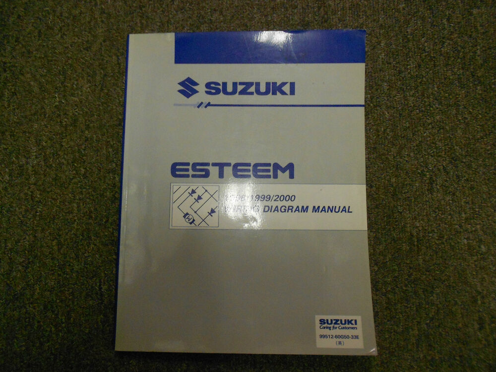 1998 1999 2000 2001 Suzuki Esteem Wiring Diagram