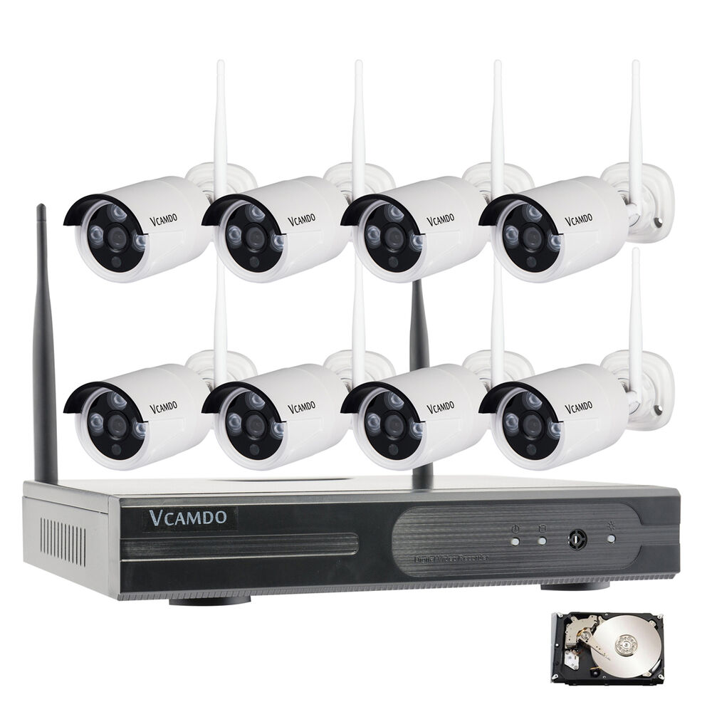 Home security camera system wireless outdoor night vision for Interior home security cameras