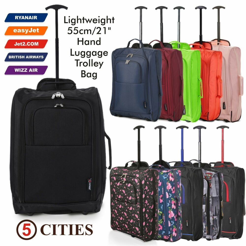 Set of 3 fits 56x45x25 easyjet trolley cabin approved for 56 45 25 cabin bag