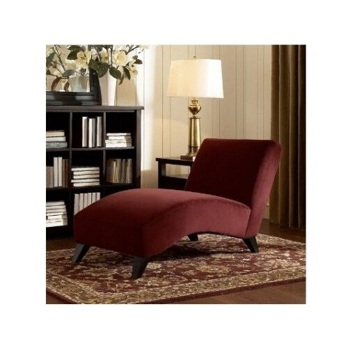Chaise Lounge Chair Upholstered Fabric Living Room Furniture Home Sofa Accent