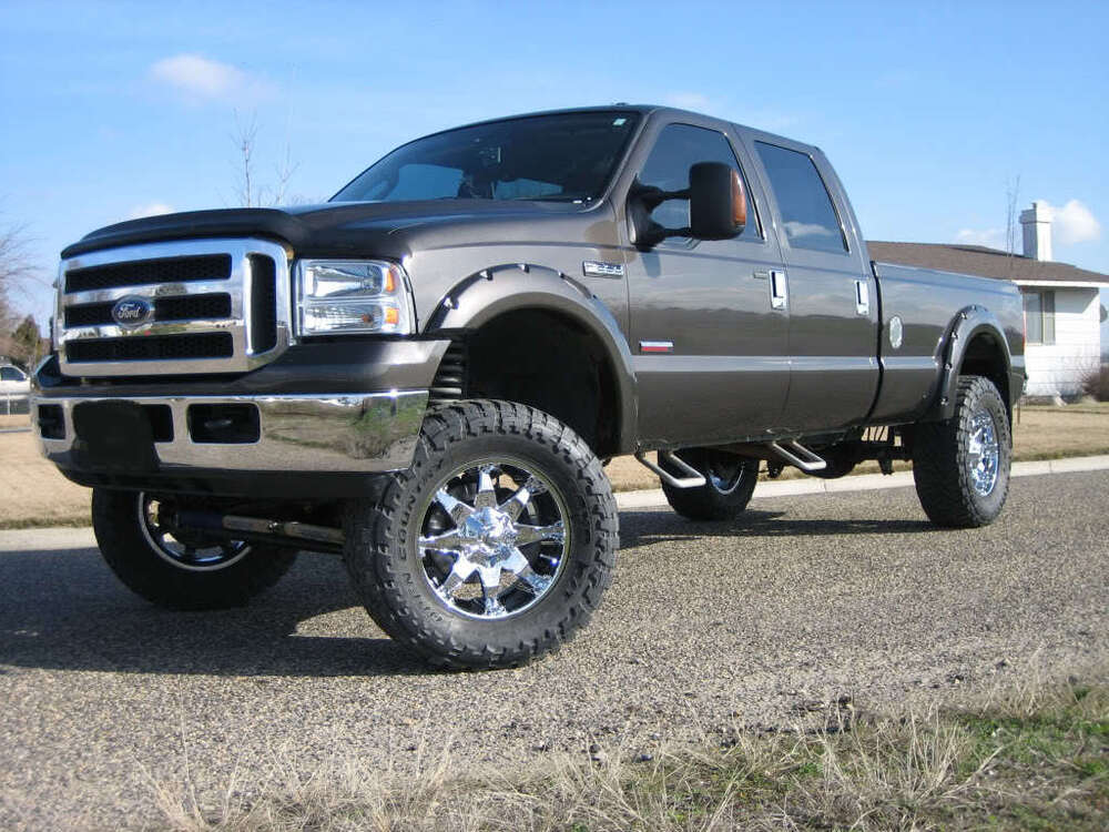 Fender Flares Pocket Rivet Style 99 07 F250 350 Superduty