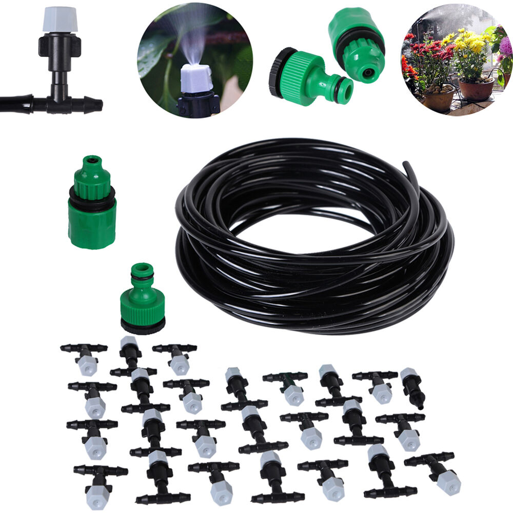 Water Misting Heads : Water misting cooling system sprinkler nozzle garden patio