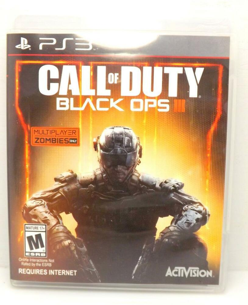 Call of Duty: Black Ops III (Sony PlayStation 3, 2015) PS3 ACTIVISION ~113 47875874541 | eBay