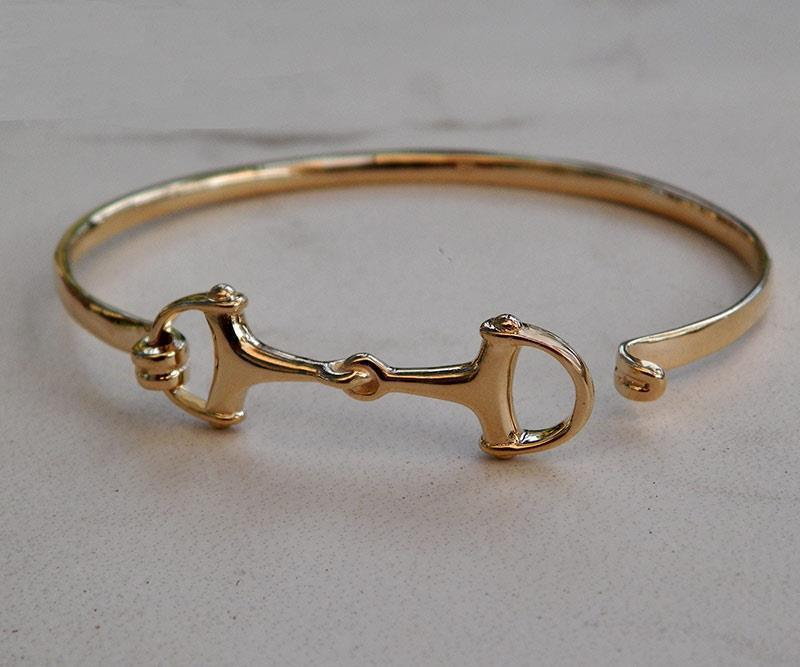 Beautiful Solid 14K Gold Small Women And Men's Horse ...