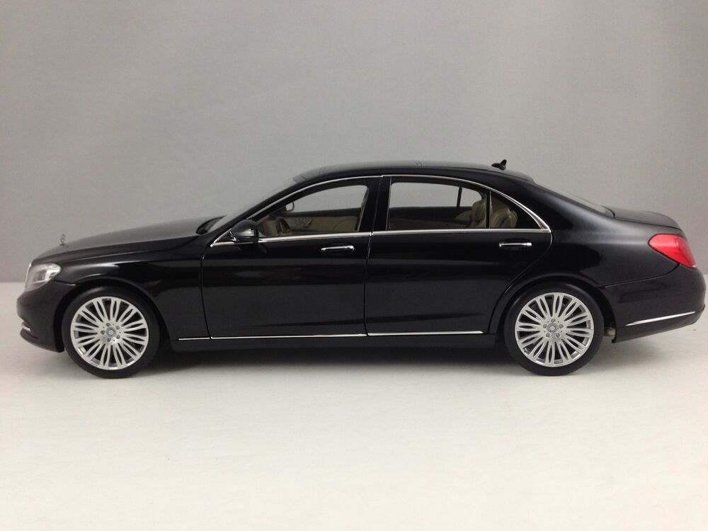 Norev mercedes benz s class sedan w222 black diecast for Mercedes benz car models list with pictures