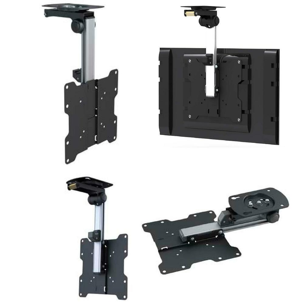 folding ceiling tv mount bracket lcd led 17 22 24 26 32 37 ebay. Black Bedroom Furniture Sets. Home Design Ideas