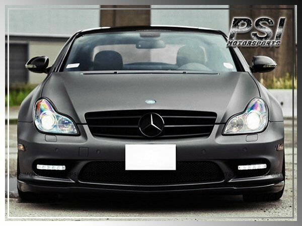 W219 cls55 cls63 amg 06 10 mercedes benz cs style carbon for Mercedes benz front bumper