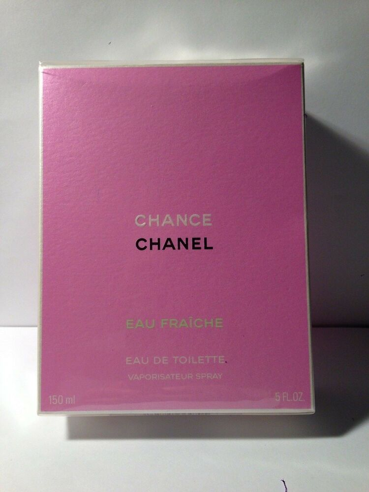 CHANCE EAU FRAICHE BY CHANEL EAU DE TOILETTE SPRAY 150 ML / 5 OZ. FACTORY SEALED | eBay