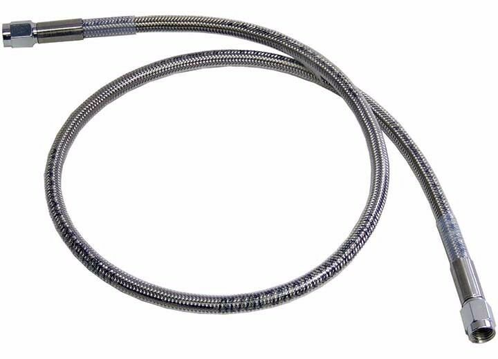 Ss Braided Brake Lines : An quot stainless steel braided brake line assembled