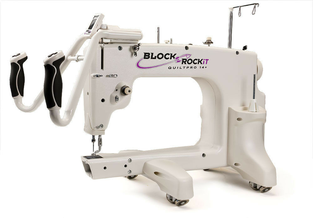 Block Rockit Long Arm Machine Quilter Amp Quiltmotion