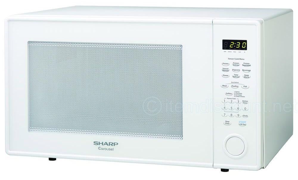 New 2 2 Cu Ft Carousel Countertop Microwave Oven Auto