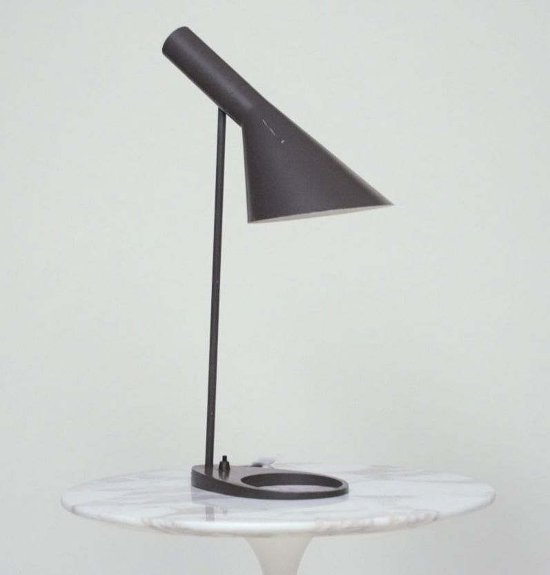 vintage louis poulsen arne jacobsen aj desk lamp 1960 39 s original mid century ebay. Black Bedroom Furniture Sets. Home Design Ideas